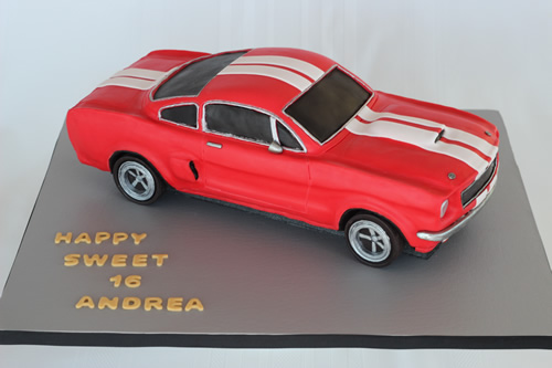 A Shelby Mustang Cake And A Mike Mccarey Dvd Giveaway Sweet Dreams