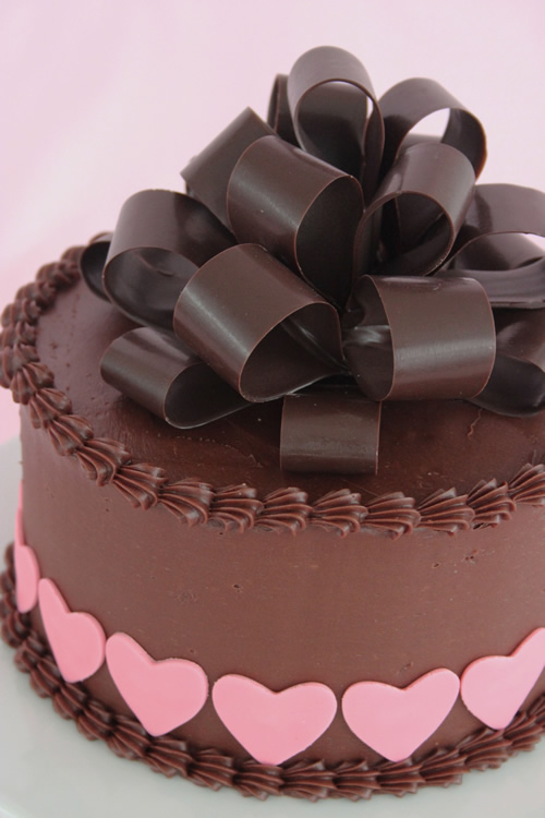 The Gift Of Cake Creating A Chocolate Bow Sweet Dreams And Sugar