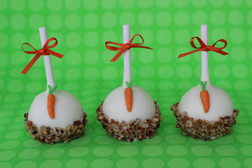 Cake Pops and Cupcakes for Carrot Cake Lovers - Sweet Dreams