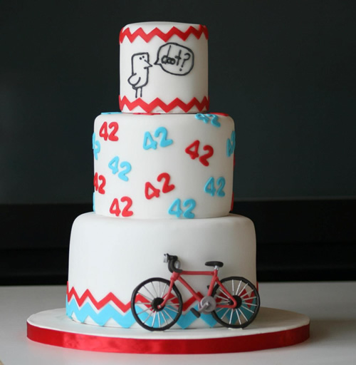 Anniversary Cake And Gumpaste Bicycle Tutorial Sweet Dreams And